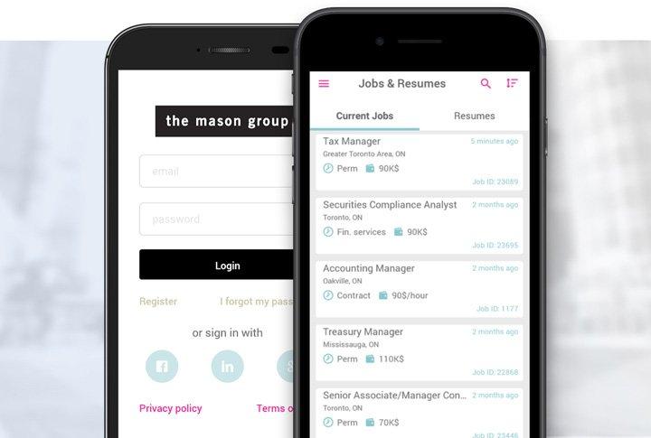 Mason Group app